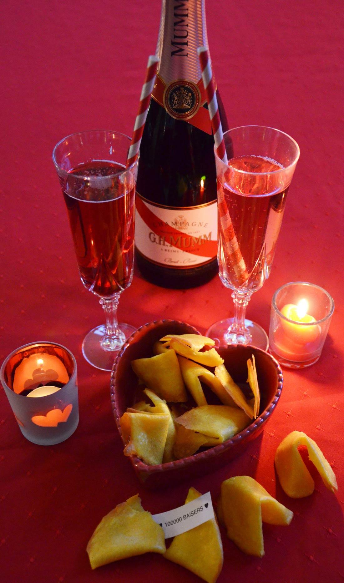 Love cookies des petits biscuits pour fêter la Saint Valentin avec votre amoureux