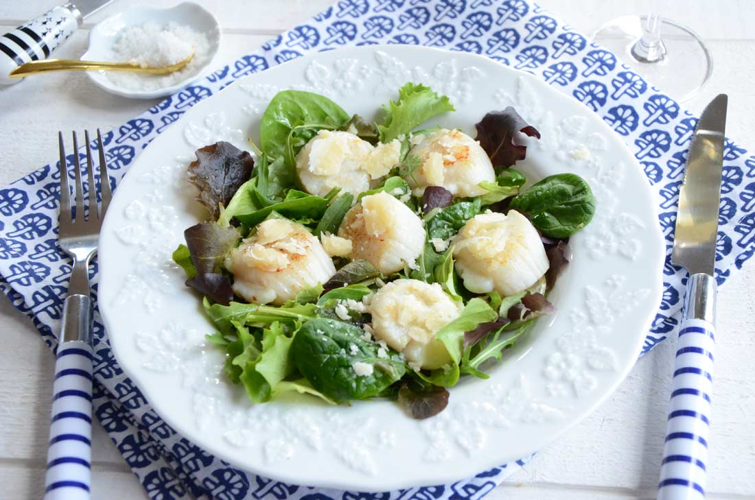 recette de noix de saint jacques pour un dîner léger