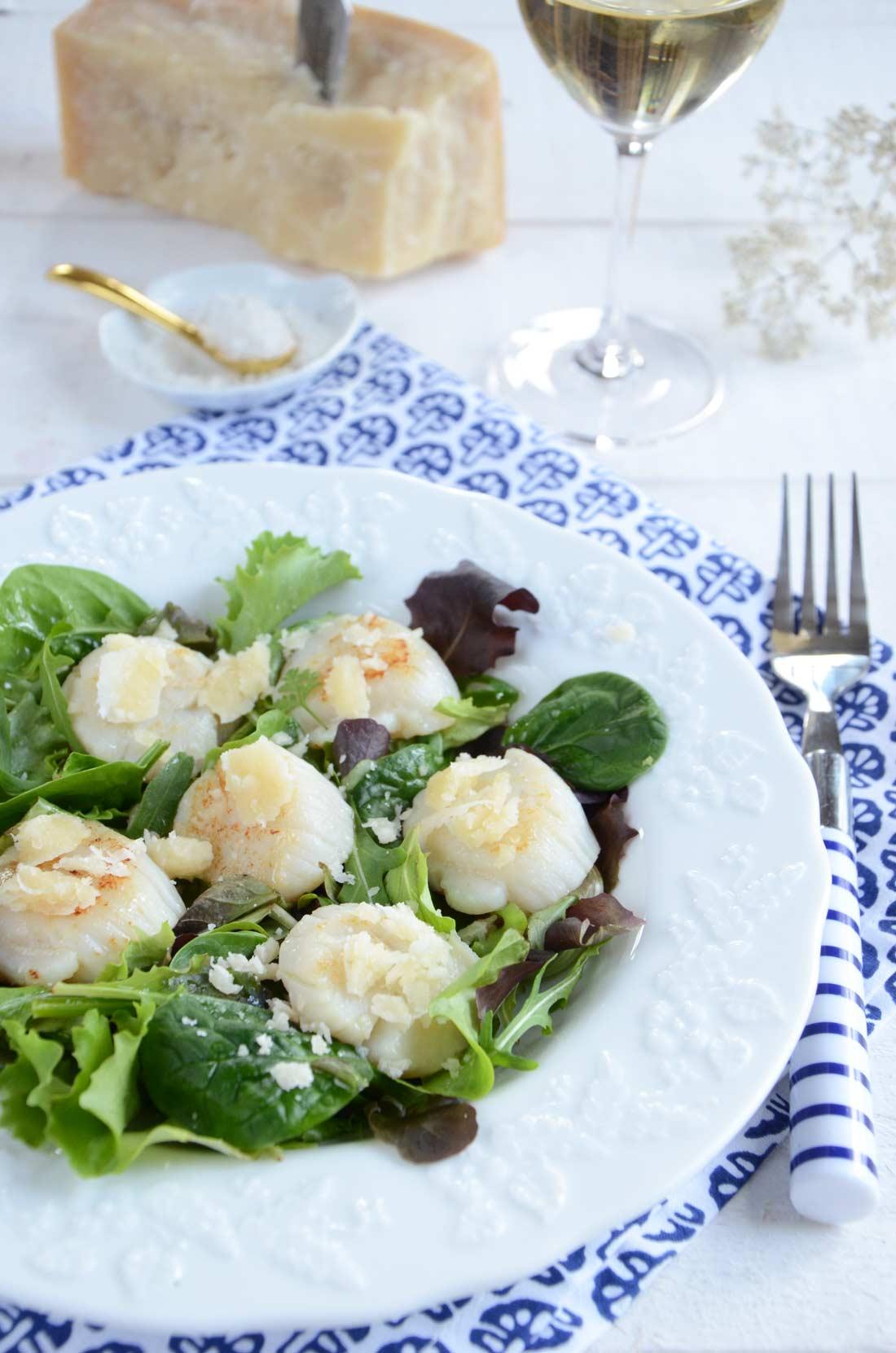 recette de noix de saint-jacques pour un dîner léger