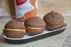 recette de whoopies au chocolat et au speculoos