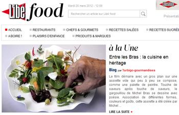 Libé Food - Entre les Bras