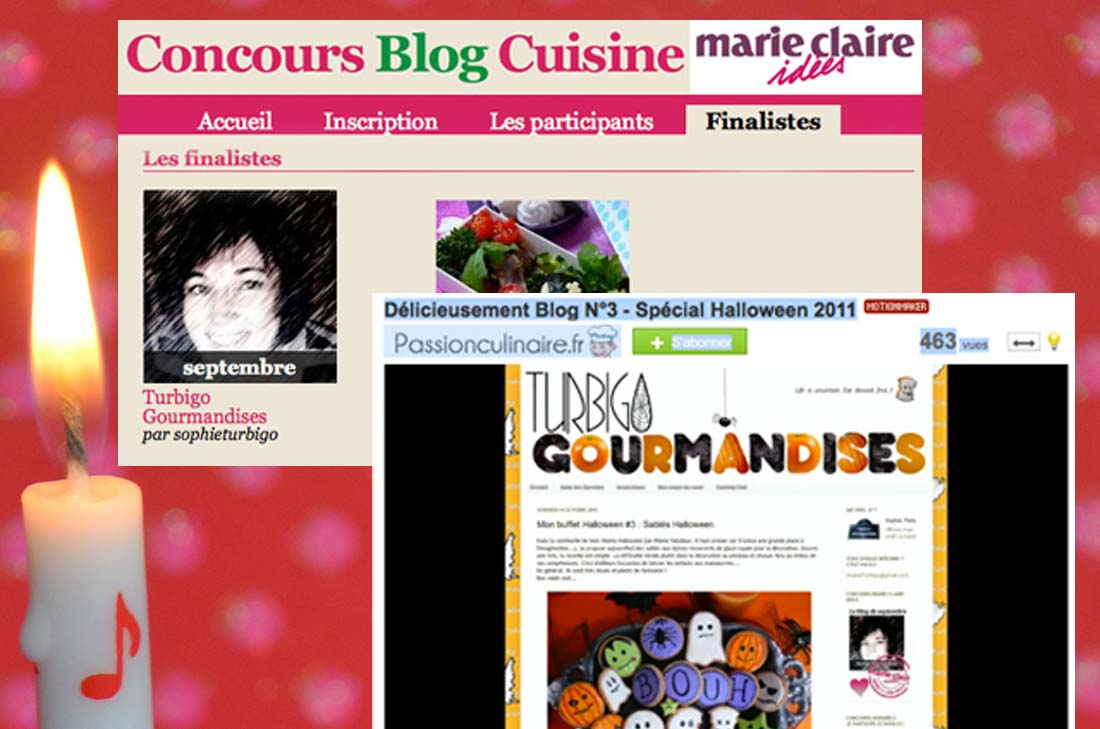 Happy Blog's day Turbigo Gourmandises