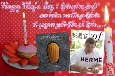 Happy blog's day : deux livres à gagner