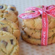Recette de cookies chocolat noir, blanc et au lait