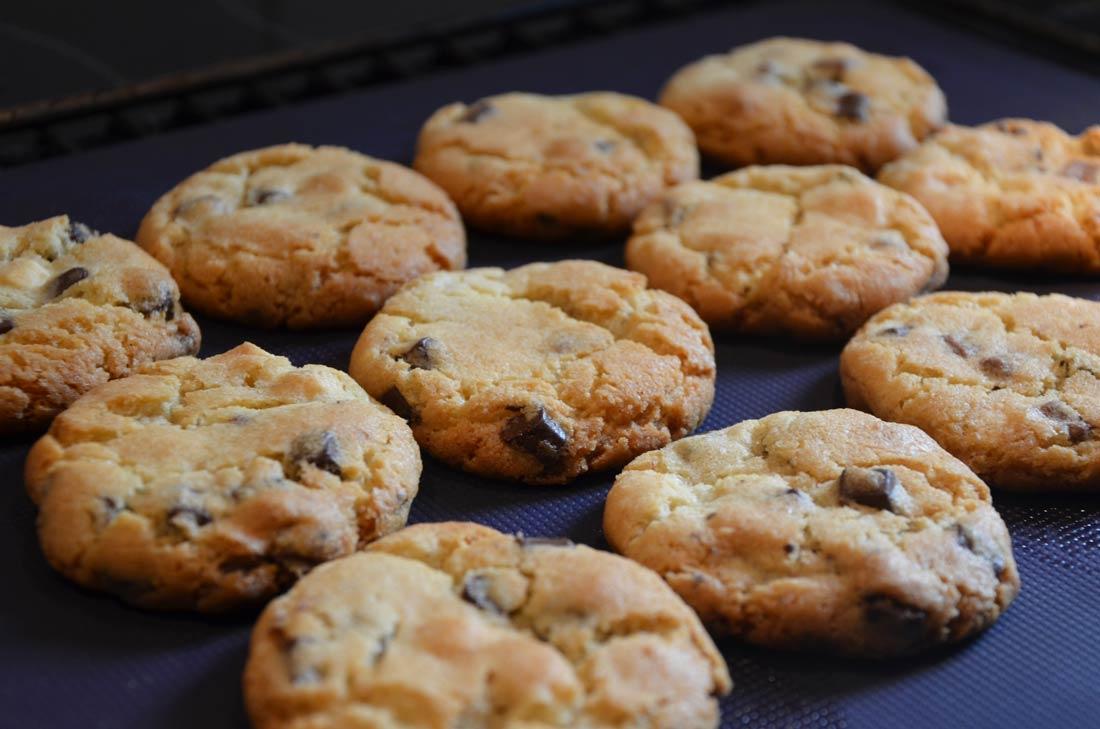 Recette de cookies aux 3 chocolats