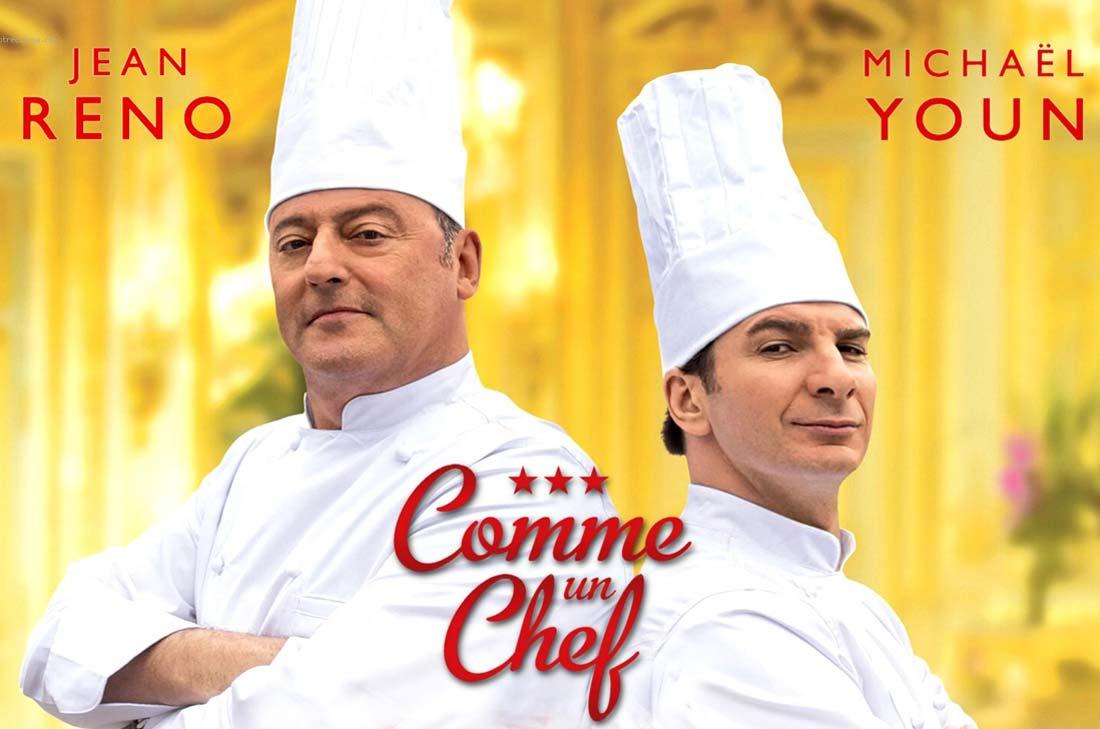 affiche du film comme un chef avec Michael Youn et Jean Reno