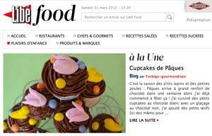 Libé Food aime les Cupcakes de pâques de Turbigo Gourmandises