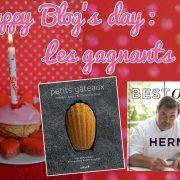 Les Gagnants du Jeu happy blog's day de Turbigo-Gourmandises