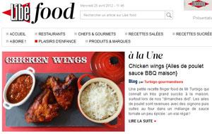 Recette de chicken wings - ailes de poulet en sauce BBQ sur Libé Food