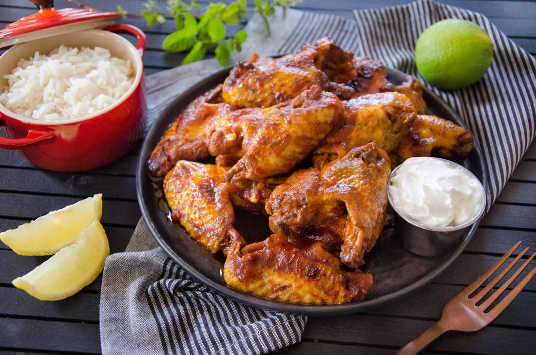 chicken wings ailes de poulet sauce bbq maison. Black Bedroom Furniture Sets. Home Design Ideas