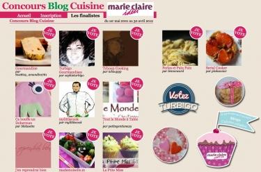 Concours Marie-Claire Idées