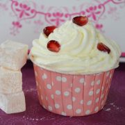cupcakes rose loukoums