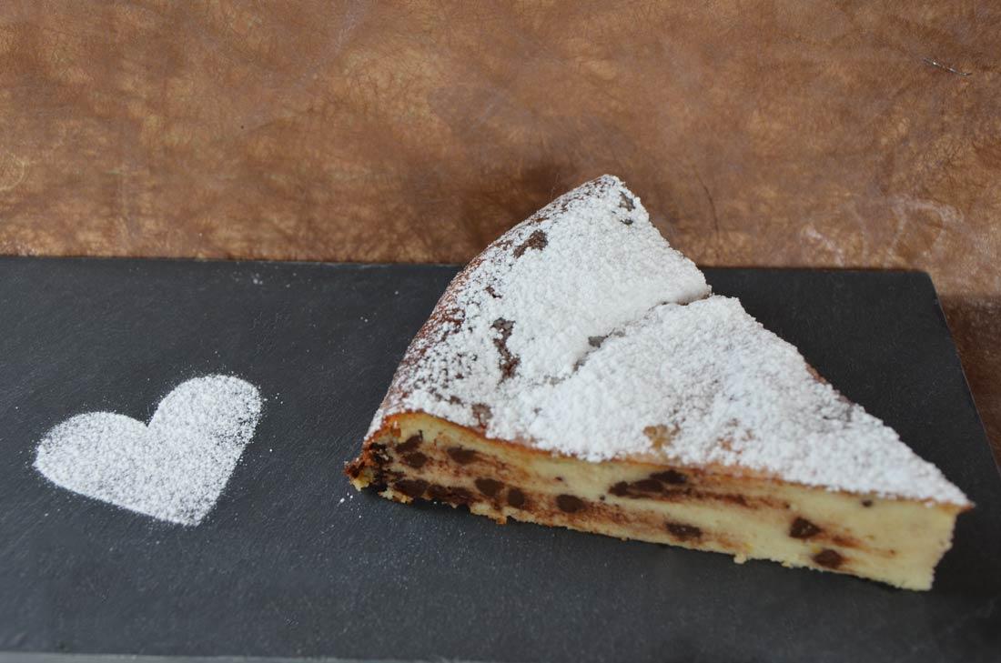 Le gâteau ricotta chocolat de Nicolas