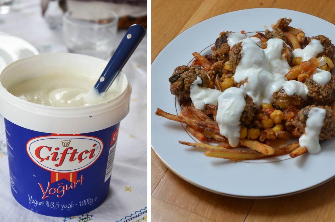 boulettes boulghour yaourt