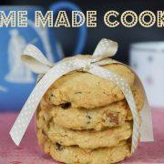 Recette de cookies flocons d'avoine chocolat