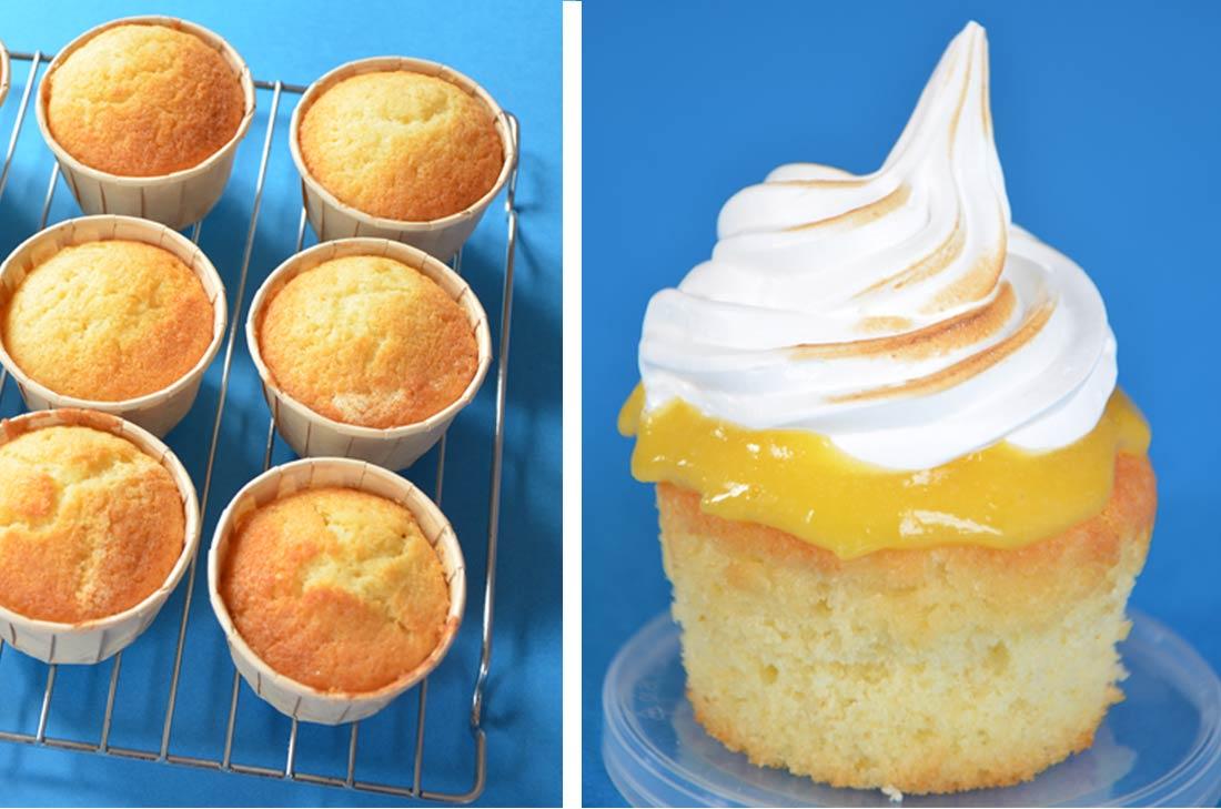 Recette de cupcake comme une tarte au citron