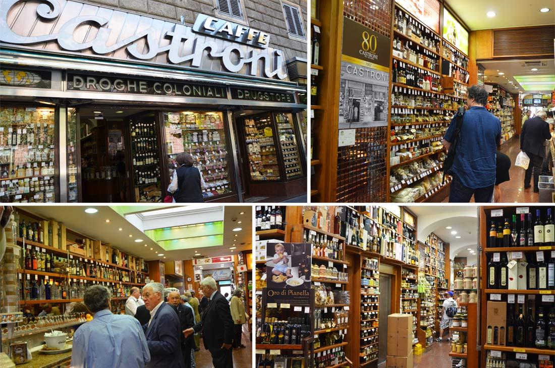 Roma : mes adresses gourmandes, l'épicerie fine Castroni