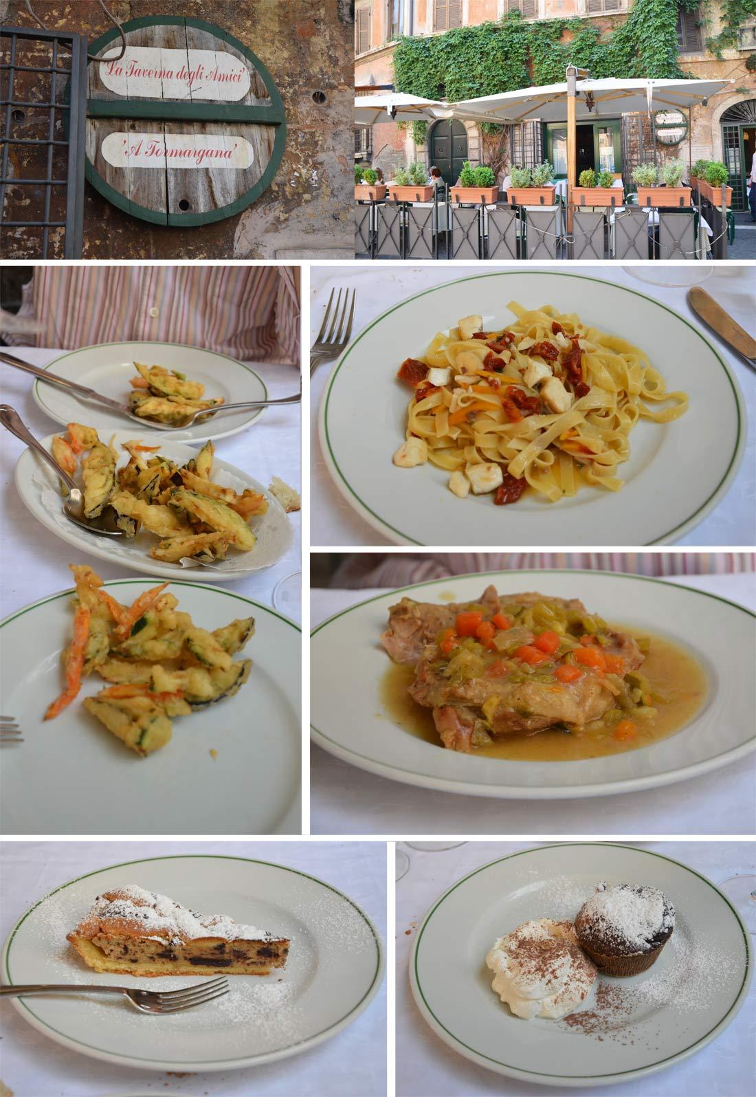 Taverna dei amigli, mes adresses gourmandes à Rome