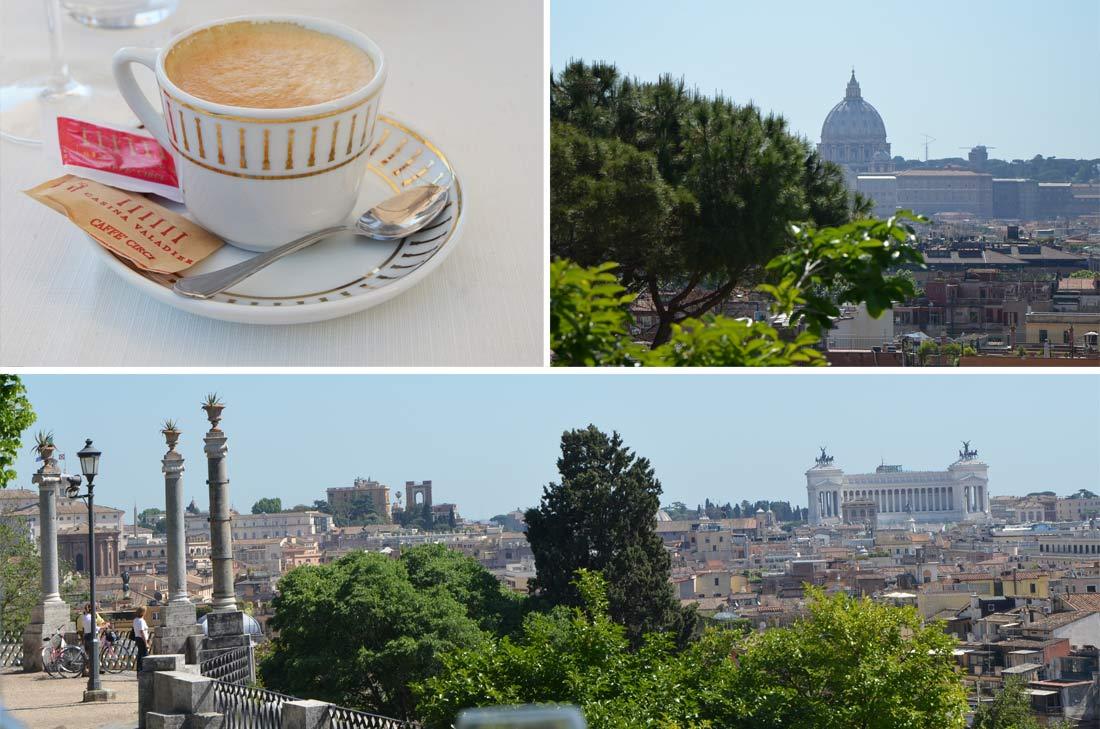 Où manger à Rome : la casina Valadier
