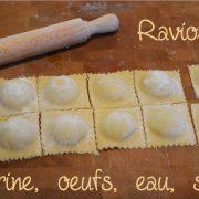 raviolis fait maison