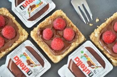Sablés Nutella de Jean-François Piège
