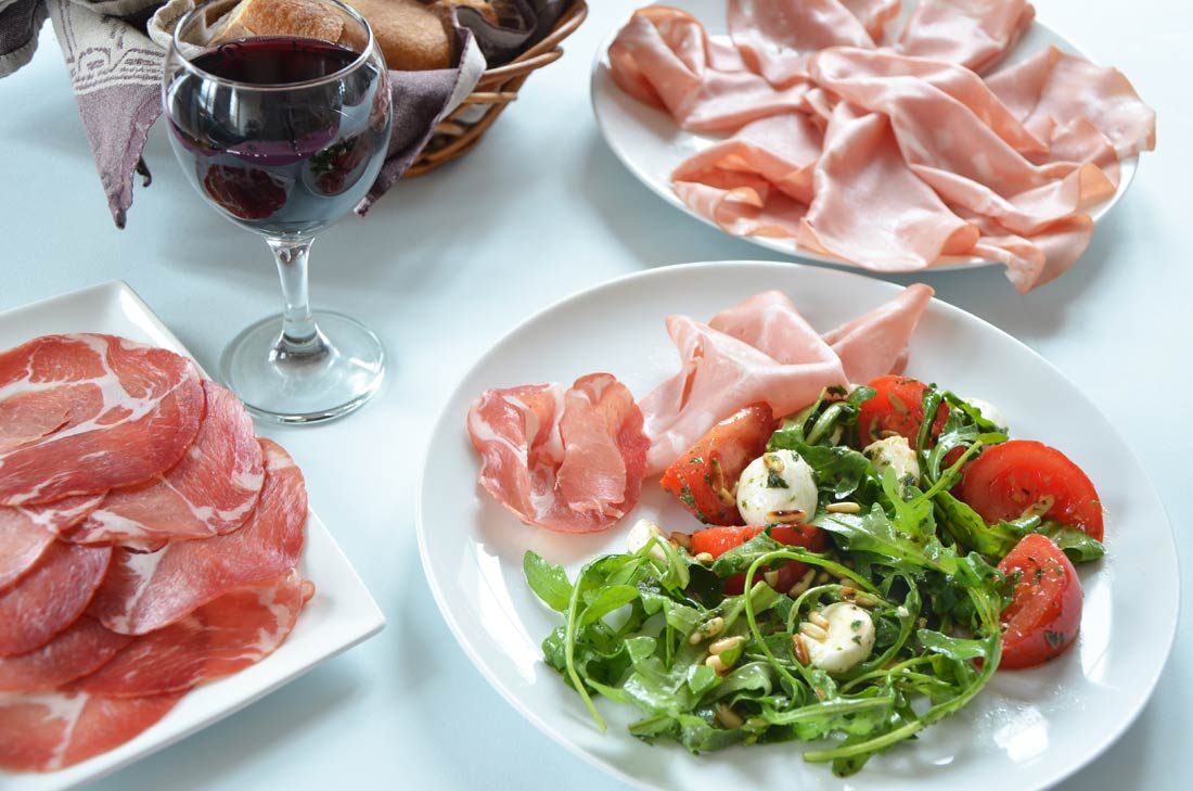 salade saveurs italiennes