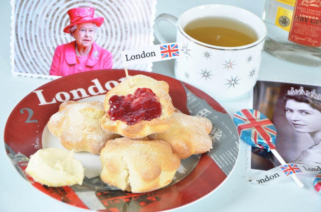 scones pour un thé avec la reine