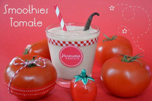 smoothies tomate vanille