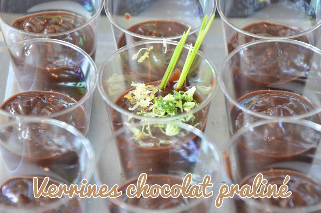 Swinguez les Matines : verrine chocolat praliné pour Matines