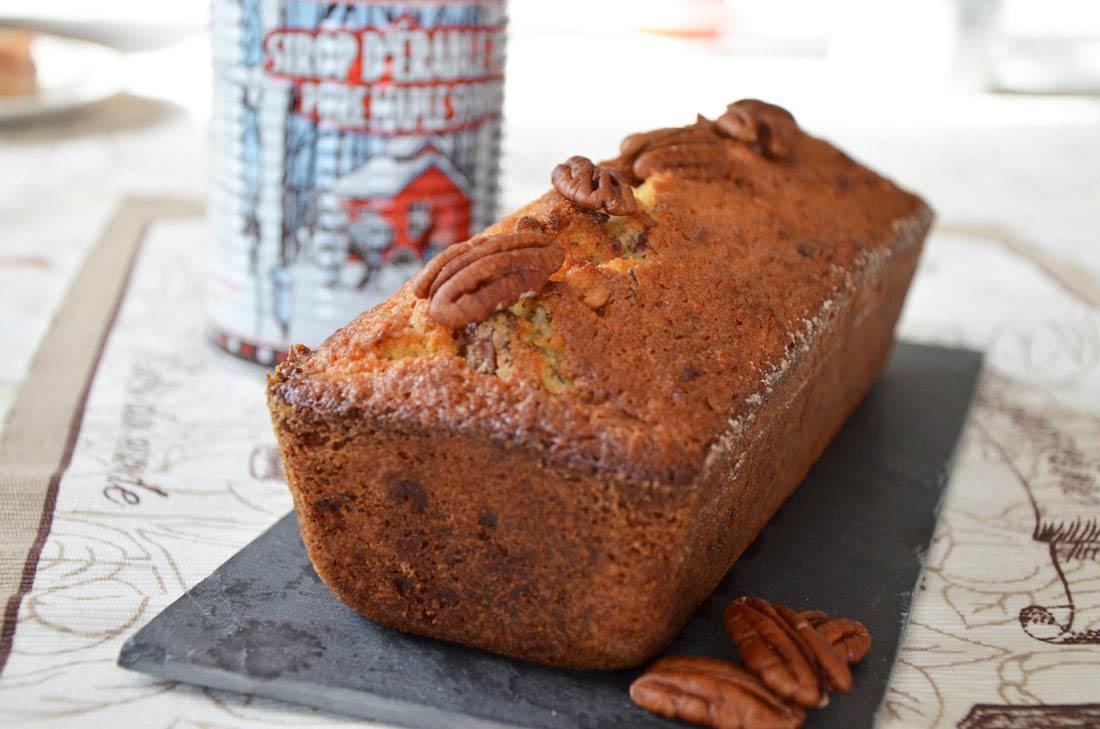 recette de Cake aux noix de pécan et sirop d'érable