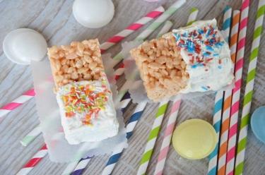 carrés rice krispies
