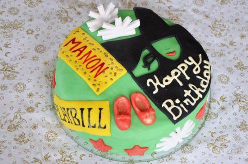 Recette de wicked rainbow cake ou gâteau arc en ciel