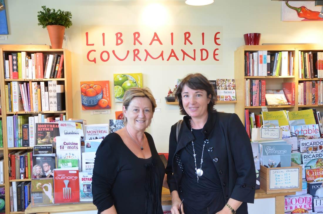 Anne Fortin, Librairie gourmande du marché Jean Talon à Montréal