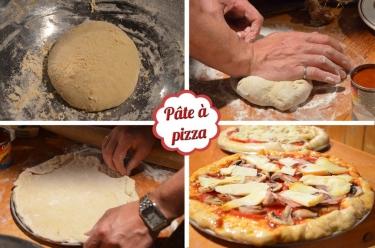 recette de pâte à pizza facile et construction du four à pain au Québec