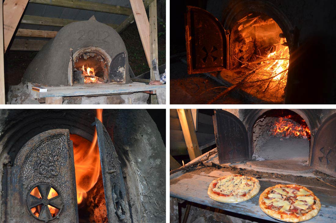 recette de pâte à pizza facile et construction du four à pain selon la méthode traditionnelle au Québec