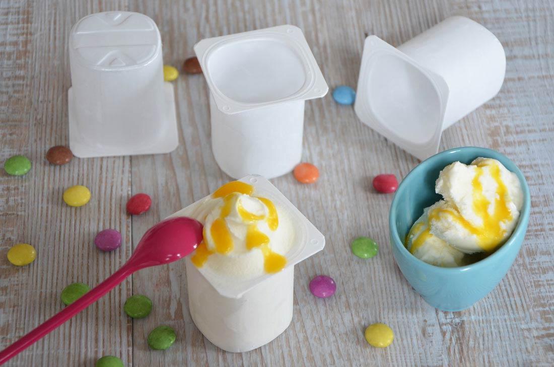 délicieuse recette de Glace au yaourt
