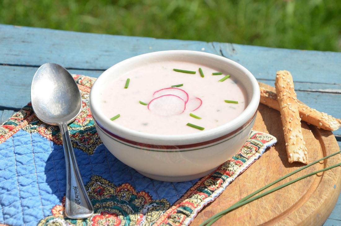 potage froid de radis