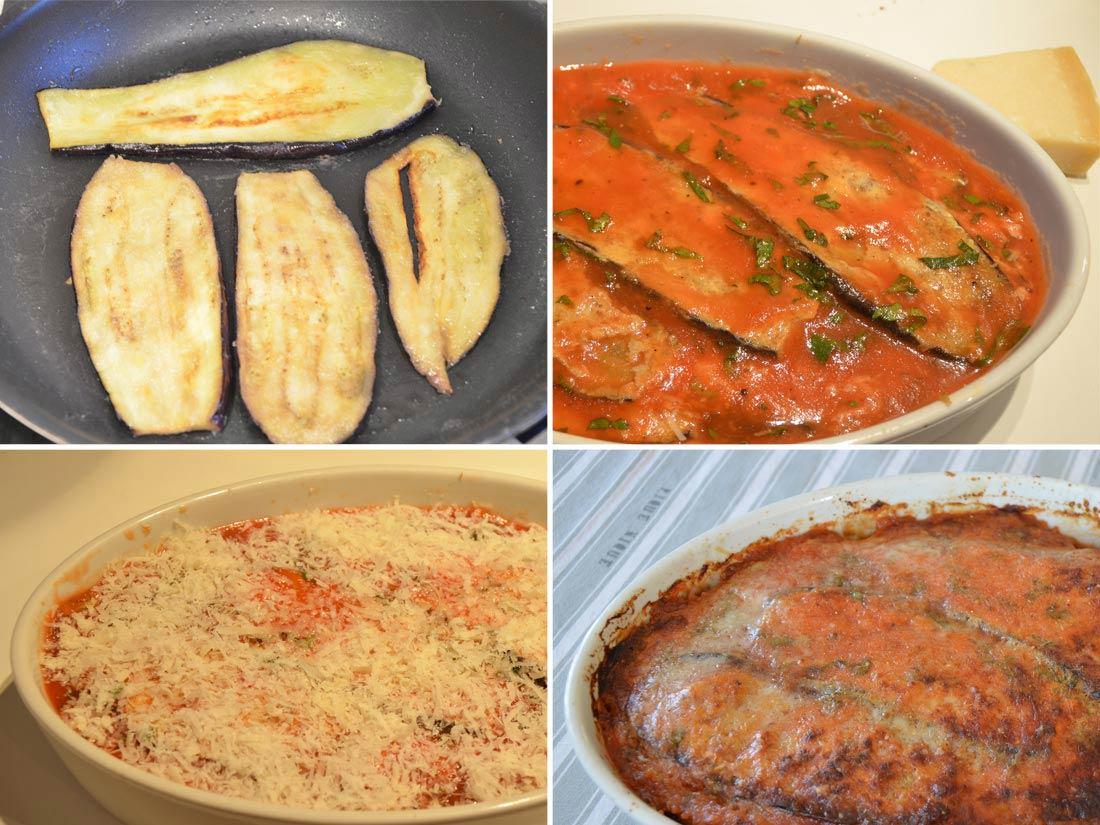 fameuse recette d'aubergines à la parmesane
