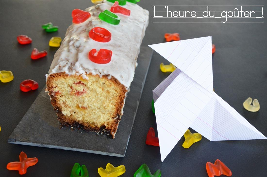 recette de cake avec des nounours dedans pour un goûter qui plaira à coup sûr aux enfants