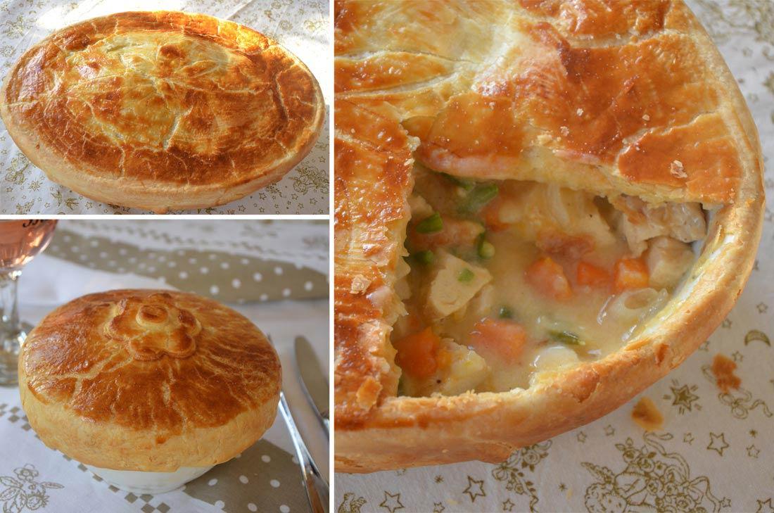 délicieuse recette de pot pie au poulet et aux patates douces