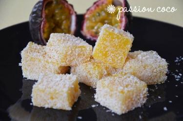 recette de pâtes de fruits passion coco de Christophe Felder