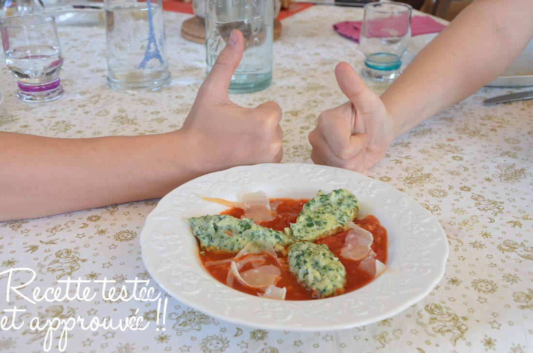 polpettes aux épinards : pour en faire manger facilement aux enfants