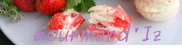 blog de cuisine Gourmand'Iz