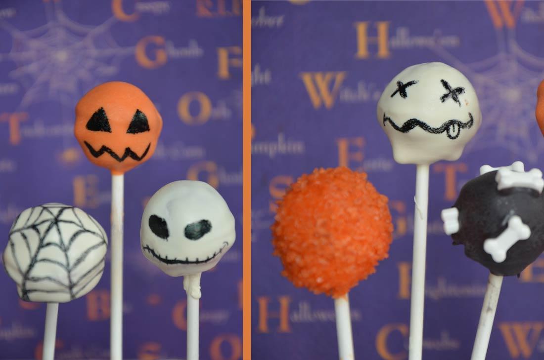 Recette de cake pops pour Halloween