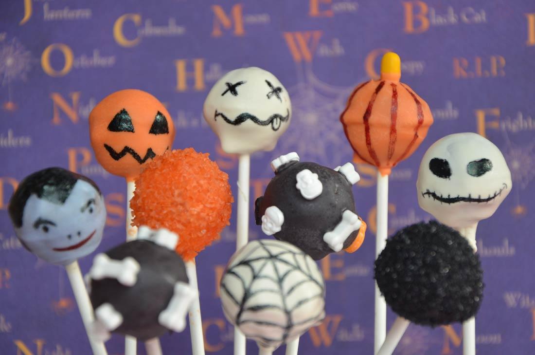 Halloween cake pops - Recette gateau halloween facile ...