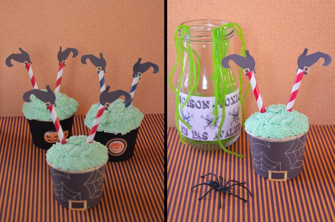 Cupcake Halloween recette