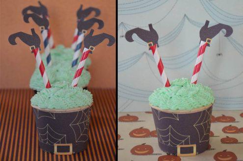 Une sorcière dans mon cupcake