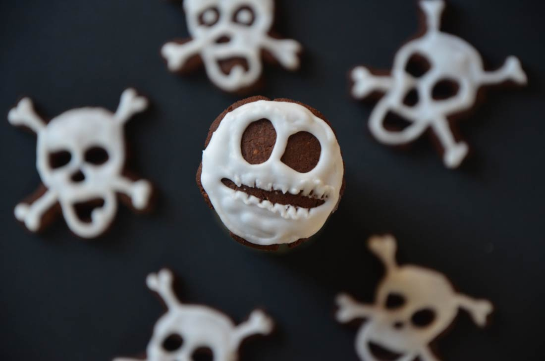 des biscuits Halloween faits maison goûteux et super horribles !