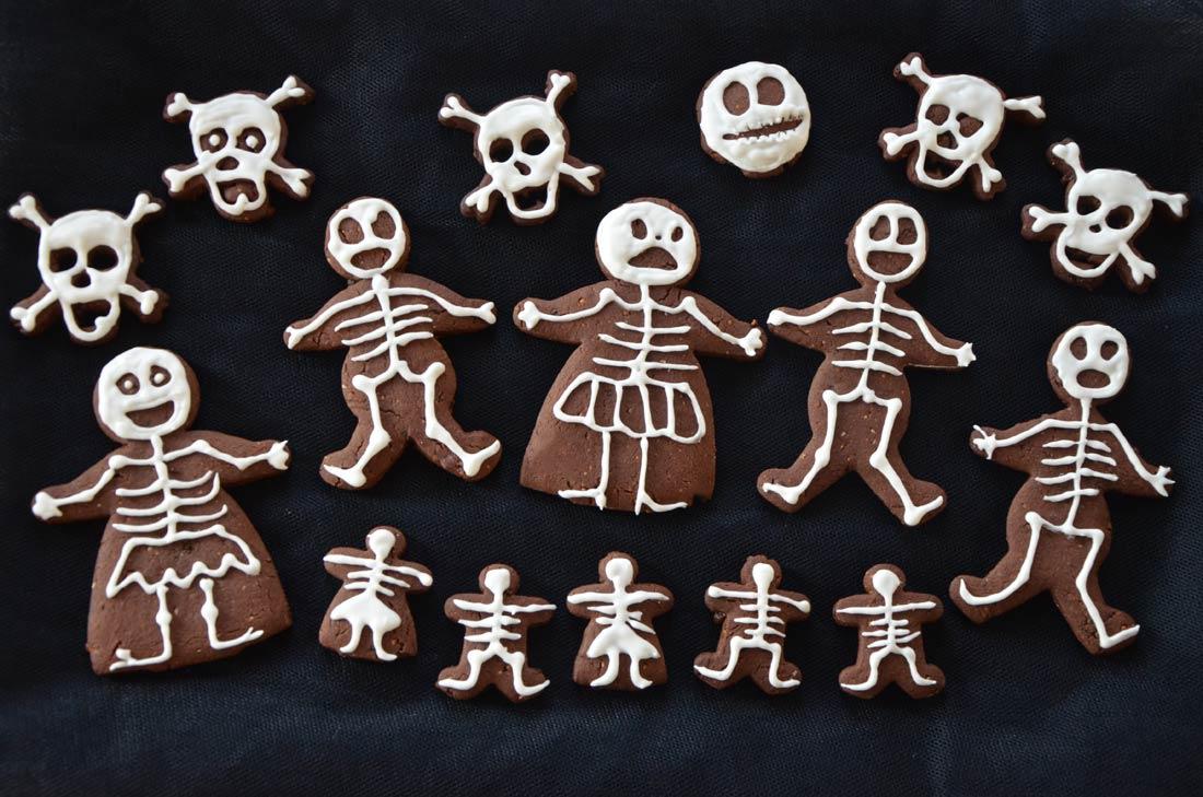 recette de biscuits Halloween