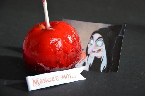 recettes pommes d'amour ou pommes rouges comme dans les fêtes foraines